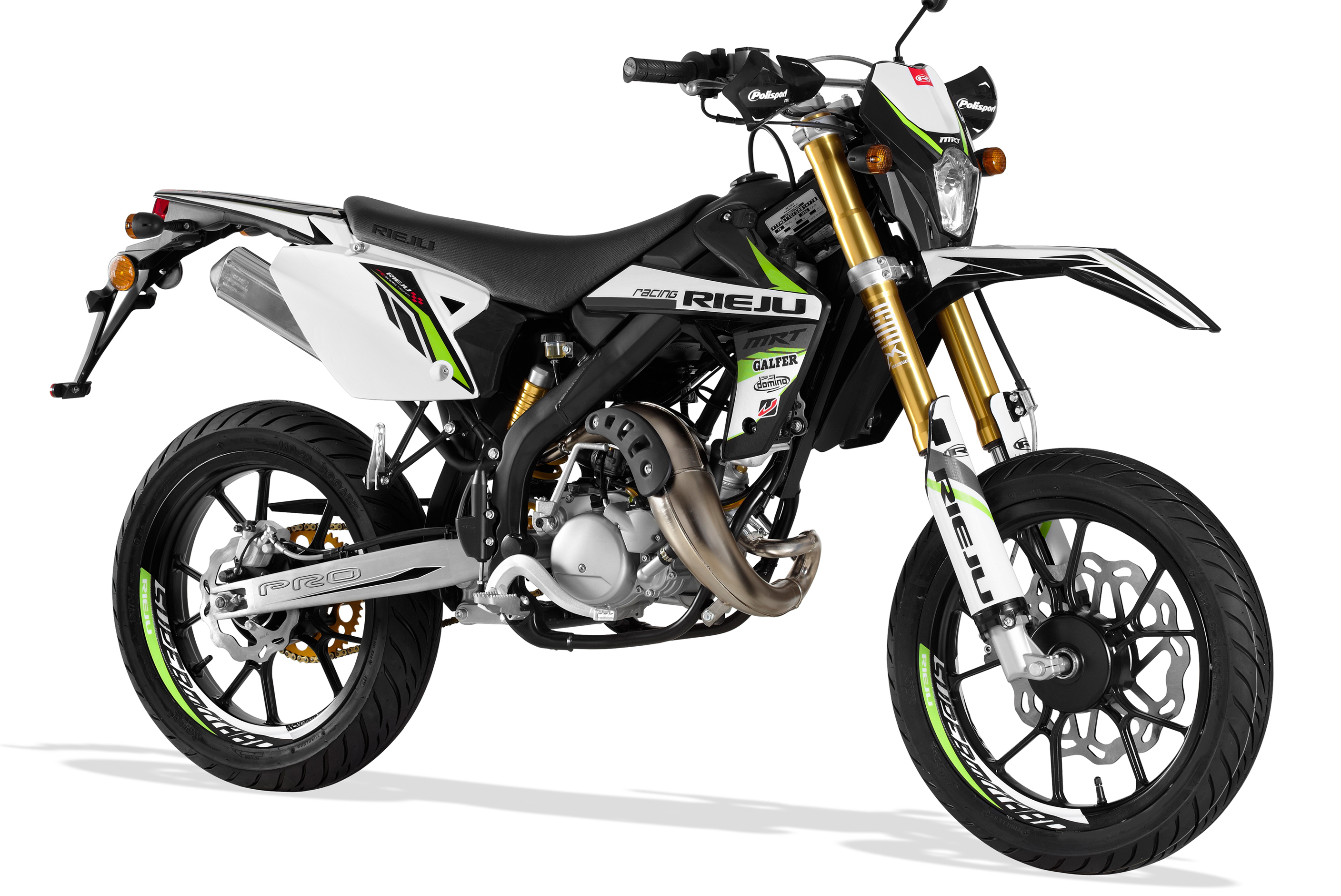 Rieju MRT Pro 50 Supermotard from Fasttrack Motorcycles