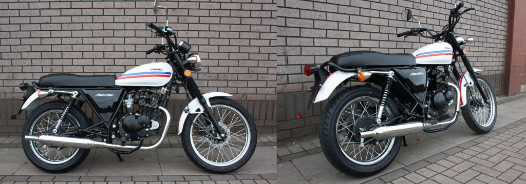 SINNIS RetroStar 125 For Sale